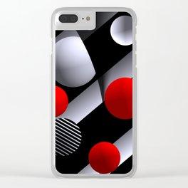 opart balls -1- Clear iPhone Case