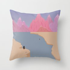 Girls' Oasis 2 Throw Pillow