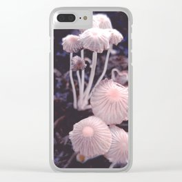 Fungus Blush Clear iPhone Case
