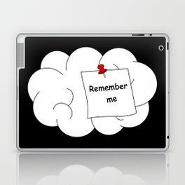 remember me concept illustration with human brain Laptop & iPad Skin