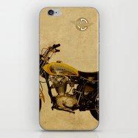ducati iPhone & iPod Skins featuring Ducati Scrambler 350 1970 by Larsson Stevensem