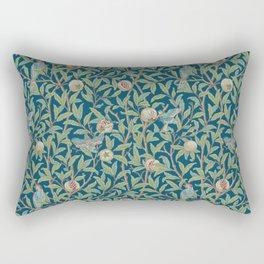 Birds and Pomegranates - William Morris Rectangular Pillow