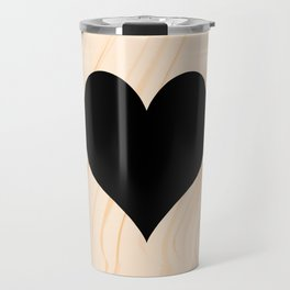 Scrabble Heart - Scrabble Love Travel Mug