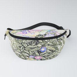 Floral Display Fanny Pack