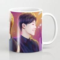 kpop Mugs featuring Woogyu by Nikittysan