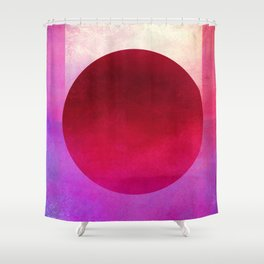 Circle Composition XII Shower Curtain