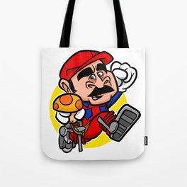 Super Plumber Tote Bag