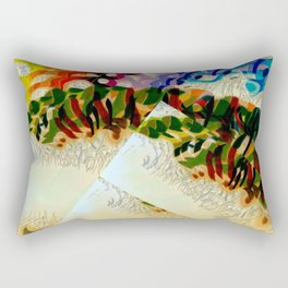 Opera in the Park Rectangular Pillow