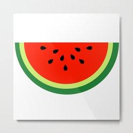 Tasty Watermelon Metal Print
