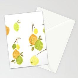 Lemons & Limes Kitchen print Stationery Cards
