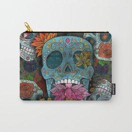 Sugar Skulls Art Carry-All Pouch
