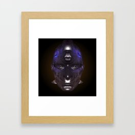 Looking into a Taino's eye's Framed Art Print