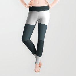 White green gray slate concept pattern Leggings
