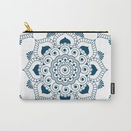 Mandala in Indian Ink 2 Carry-All Pouch