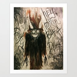 Mister Babadook Art Print