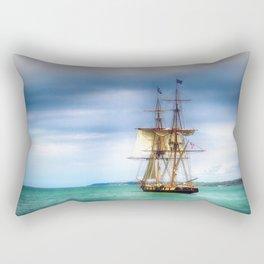 The Journey Begins - Flagship Niagara, Erie, PA Rectangular Pillow