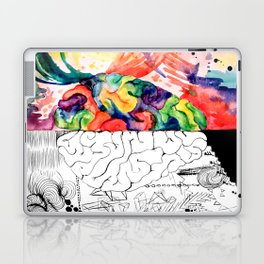 Right Left Brain Laptop & iPad Skin