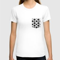 polka T-shirts featuring polka by spinL