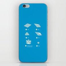 Step-by-step Origami iPhone & iPod Skin