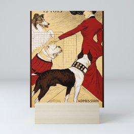 Chicago Kennel Club's Dog Show (1902) Mini Art Print