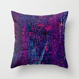 Doodlez on Chaos One Throw Pillow