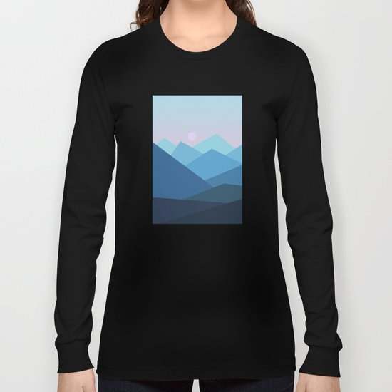 Landscape NC 01 Long Sleeve T-shirt