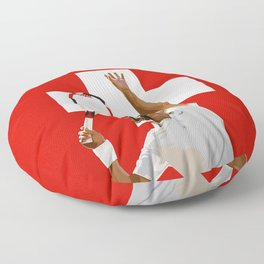 Roger Federer | Tennis Floor Pillow