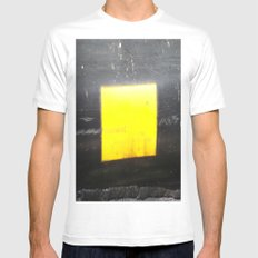 SQUARE White MEDIUM Mens Fitted Tee