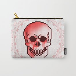 pixel skull Carry-All Pouch