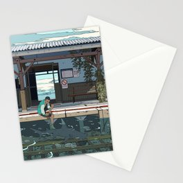 High Tide Tracks Stationery Cards