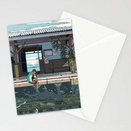 High Tide Tracks Stationery Cards