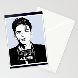 Frank Sinatra's mug shot Stationery Cards