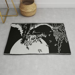 The Samurai and the Leaf Rug