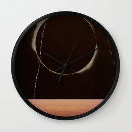 Emerge/Dissolve Wall Clock