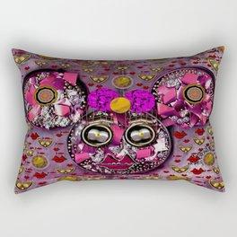 Mouse Girl In Love Rectangular Pillow