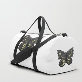 The Beauty in You - Butterfly #1 #drawing #decor #art #society6 Duffle Bag