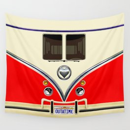 RED minibus lovebug iPhone 4 4s 5 5c 6 7, pillow case, mugs and tshirt Wall Tapestry