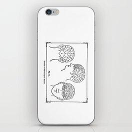 Phrenology iPhone Skin