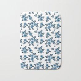 Hawaiian Flower Pattern Bath Mat
