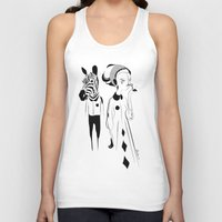 sia Tank Tops featuring Breathe me - Emilie Record by Emilie R.