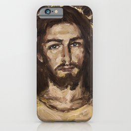 Christ in his Divine Mercy iPhone Case