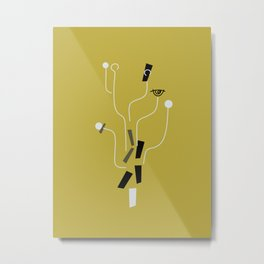 Clueless Bramble [Gold] Metal Print
