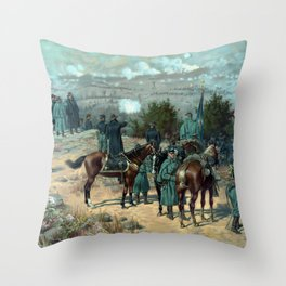 Battle Of Chattanooga - Missionary Ridge Throw Pillow