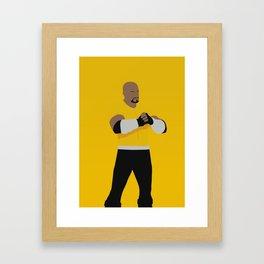 Luke Cage Framed Art Print