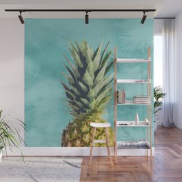 Pineapple Top Wall Mural