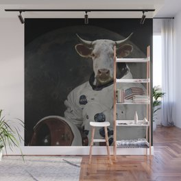 The Cow That Jumped Over the MOOn Wall Mural