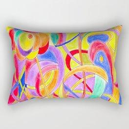 The big fish (pastel colors) Rectangular Pillow