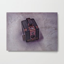 Old Brownie Camera Metal Print