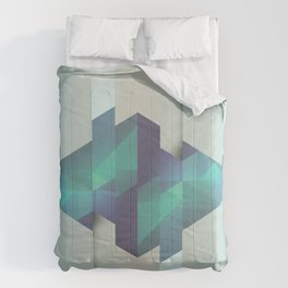 Gem Abstract Comforters