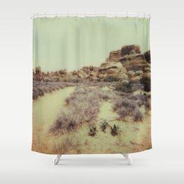 Arches National Park - Polaroid Shower Curtain